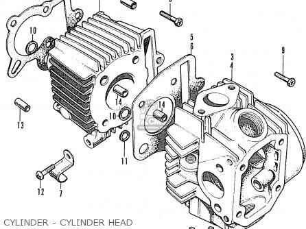 Honda ST70 DAX ENGLAND parts lists and schematics
