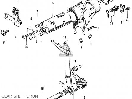 Honda ST70 DAX ENGLAND parts lists and schematics