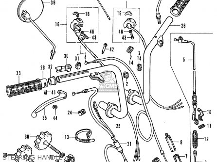 Honda ST70K3 DAX ENGLAND parts lists and schematics