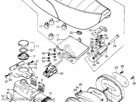 Honda C70 Carburetor Diagram Honda XL80S Carburetor Wiring