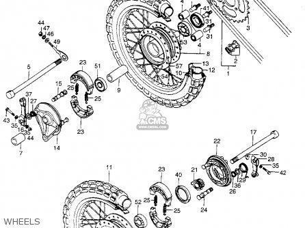 Honda St90 Trailsport 1974 K1 Usa parts list partsmanual