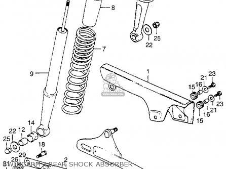 Honda St90 Trailsport 90 K1 1974 Usa parts list