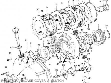 Honda St90 Trailsport 90 K2 1975 Usa parts list