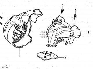 Honda SZ50 TACT 1999 (X) JAPAN AF51-150 parts lists and