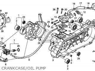 Honda Szx50s X8r 1998 France / T13 parts list partsmanual