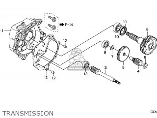 Honda Szx50s X8r 1998 (w) Switzerland T13 parts list