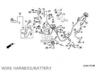 Honda SZX50S X8R 1998 (W) SWITZERLAND T13 parts lists and