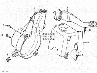 Honda TC50 GYRO CANOPY 2007 (7) JAPAN TA02-200 parts lists