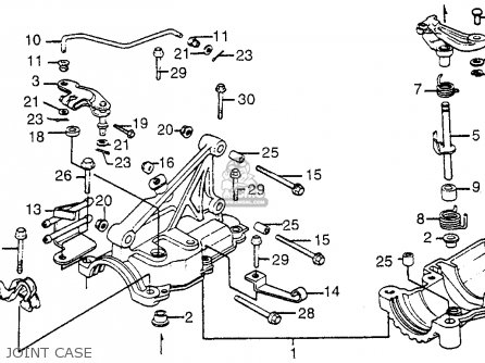 Honda Tg50m Gyro S 1985 (f) Usa parts list partsmanual