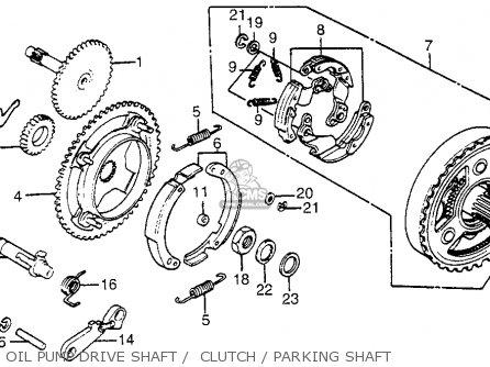 Honda Tg50m Gyro S Usa parts list partsmanual partsfiche