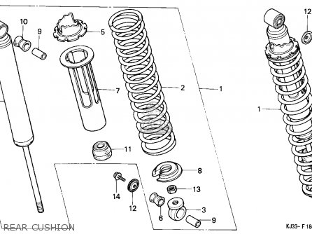 Honda Tl125 1983 (d) France parts list partsmanual partsfiche