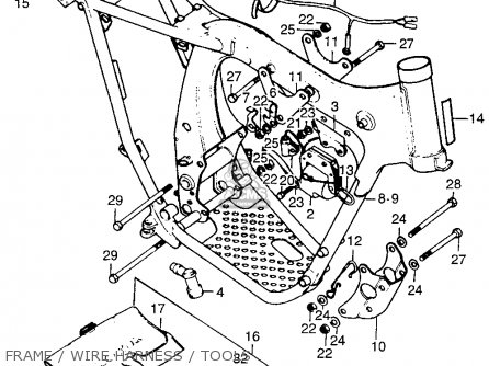 Honda TL125 TRIALS 1973 K0 USA parts lists and schematics