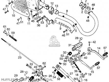 Honda 125 Engine Parts List Honda 125 Carburetor Wiring
