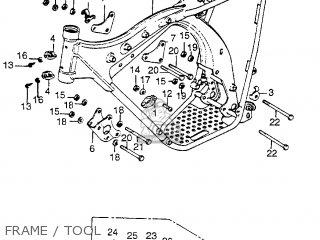 Honda TL125S TRIALS 1976 USA parts lists and schematics