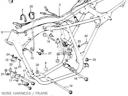 Honda Tl250 Trials K0 1975 Usa parts list partsmanual