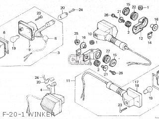 Motorradteile Front Brake Lever Stop Switch for 1986 Honda