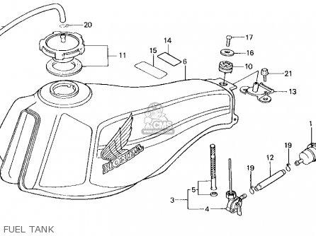 Honda Tlr200 Reflex 1986 (g) Usa California parts list