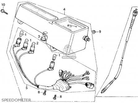 Honda TLR200 REFLEX 1986 (G) USA CALIFORNIA parts lists