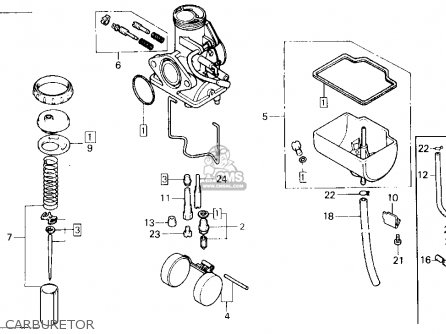 Honda Tlr200 Reflex 1986 Usa parts list partsmanual partsfiche