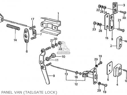 Honda TN360K3 TN7 LH DRIVE MPH TYPE KD parts lists and