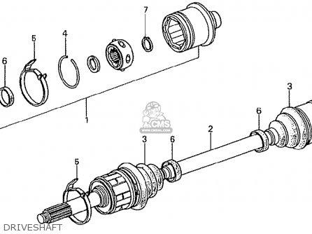 Honda TN360K3 TN7 RH DRIVE KMH TYPE KQ parts lists and