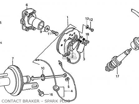 Honda TN360K3 TN7 RH DRIVE KMH TYPE KT parts lists and