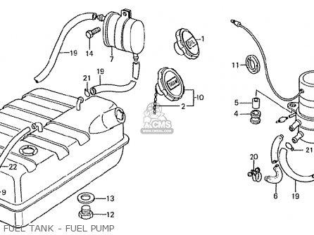 Honda TN360K3 TN7 LH DRIVE KMH TYPE KP parts lists and