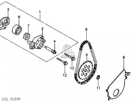 Honda Tr200 Fatcat 1986 (g) Usa parts list partsmanual