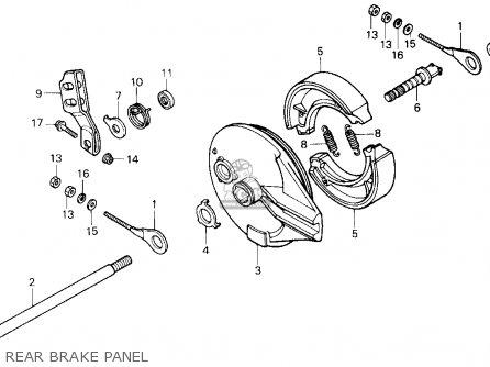 Honda Tr200 Fatcat 1987 (h) Usa parts list partsmanual