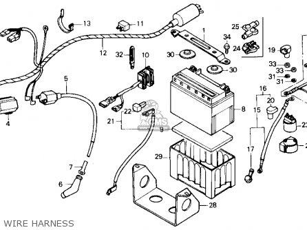Honda Tr200 Fatcat 1987 Usa parts list partsmanual partsfiche