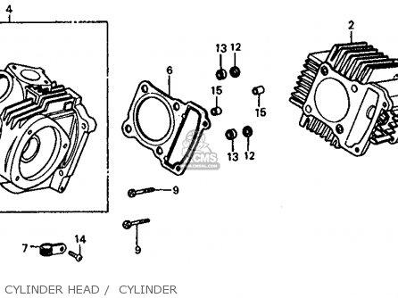Honda Trx125 Fourtrax 125 1985 Usa Cam Chain Tensioner