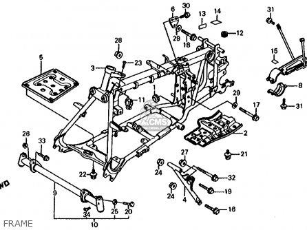 1986 Honda trx 125 wiring