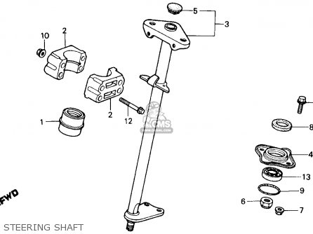 Wiring Diagram For 87 Trx 250 2001 Honda TRX 250 Wiring