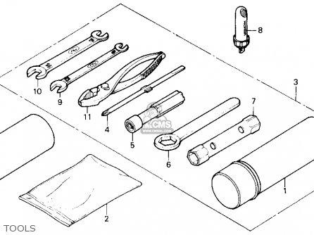 Honda TRX125 FOURTRAX 125 1987 (H) USA parts lists and