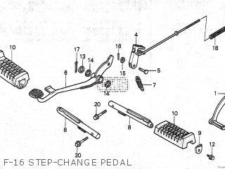 Honda TRX125 FOURTRAX 1986 (G) parts lists and schematics