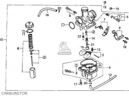 Honda TRX200D 1992 (N) USA parts lists and schematics