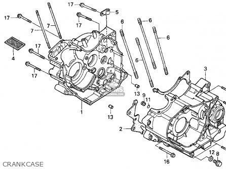 Honda Trx200d 1994 (r) Usa parts list partsmanual partsfiche