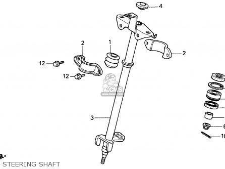 Honda Trx200d 1994 (r) Usa parts list partsmanual partsfiche