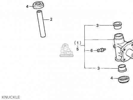 Honda TRX200D 1995 (S) USA parts lists and schematics