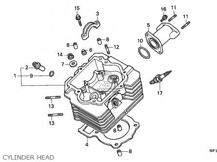 Honda TRX200D FOURTRAX 1992 (N) CANADA parts lists and