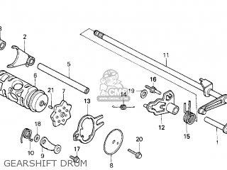Honda Trx200d Fourtrax 1997 (v) Usa Type 2 parts list