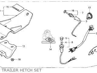 Honda TRX200D FOURTRAX 1997 (V) USA TYPE 2 parts lists and