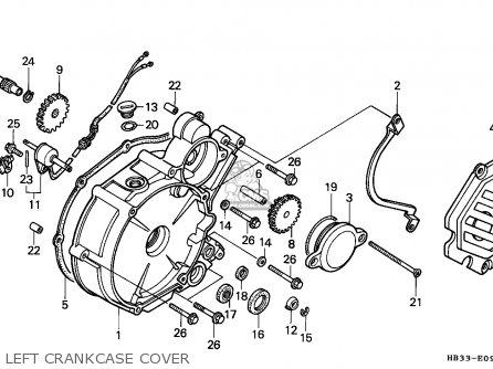 Honda TRX200SX FOURTRAX 1986 (G) AUSTRALIA parts lists and