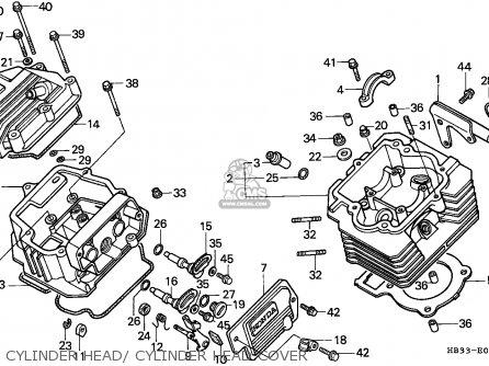Honda 125 Fourtrax Wiring Diagram Honda Trx450r Wiring