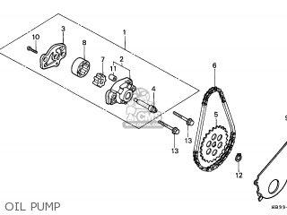 Honda TRX200SX FOURTRAX 1986 (G) CANADA parts lists and