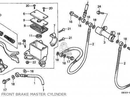 Honda TRX200SX FOURTRAX 1986 (G) ENGLAND parts lists and