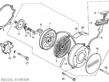 Honda Trx200sx Fourtrax 200sx 1986 Usa parts list