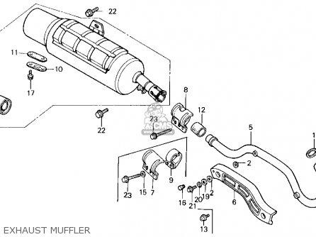 Honda Trx200sx Fourtrax 200sx 1987 (h) Usa parts list
