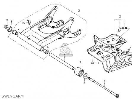 Honda Trx200sx Fourtrax 200sx 1988 (j) Usa parts list