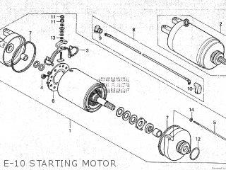 Honda TRX250 1985 (F) parts lists and schematics